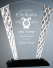 Fan Accent Glass Award Achievement Awards