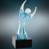 Raised Arms Art Glass Artistic Glass Awards