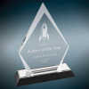 Silver Arrow Point Impress Acrylic Colored Acrylic Awards