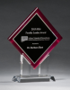 Digitally Printed Diamond Award Colored Acrylic Awards