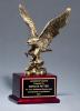 Antique Bronze Finished Eagle Trophy Eagle Awards