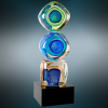 Stacked Blocks Art Glass Sales Awards