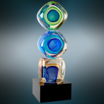 Stacked Blocks Art Glass Achievement Awards