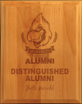 All American Ogee-Edge Red Alder Plaque Achievement Awards