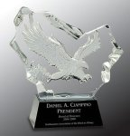 Crystal Carved Eagle Award Achievement Awards