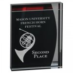 Lustre Acrylic Stand-Up Achievement Awards