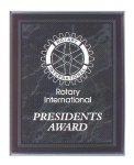 Black Marble Border Clear Acrylic Award Plaque Acrylic Plaques