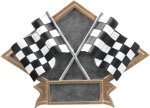 Diamond Plate Resin -Racing All Trophy Awards