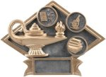 Diamond Plate Resin -Education All Trophy Awards