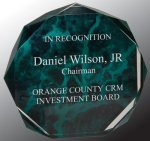 Marble Octagon Acrylic Award Corporate Acrylic Awards