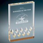 Diamond Mirage Acrylic -Gold Employee Awards