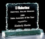 Crushed Ice Square Acrylic Award Employee Awards
