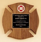 Maltese Cross Fireman Award Fire and Safety Awards