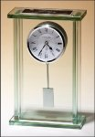 Glass Clock Mantle Clocks