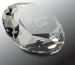 Crystal Diamond Paper Weight Paperweight Crystal Awards