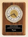 American Walnut Vertical Wall Clock. Religious Awards