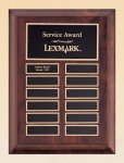 Cherry Finish Wood Perpetual Plaque Religious Awards