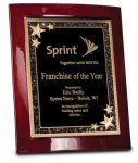 Rosewood Piano Finish Eclipse Plaque Sales Awards