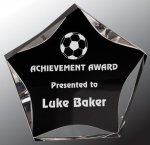 Black/Clear Luminary Star Acrylic Award Sales Awards