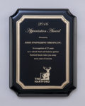 Black High Gloss Plaque Sales Awards