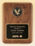 American Walnut Plaque with Eagle Medallion Sales Awards