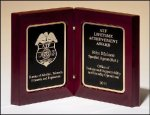 High Gloss Rosewood Book Plaque Square Rectangle Awards