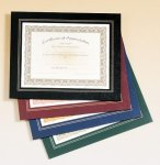 Leatherette Frame Certificate Holder Track Trophy Awards